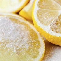 Шугаринг с соком лимона