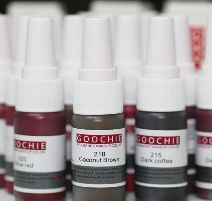 Краска для микроблейдинга Goochie