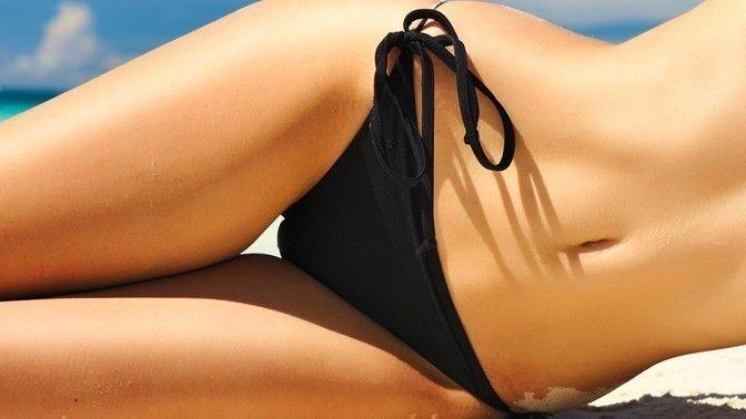 Шугаринг интимной зоны глубокого бикини